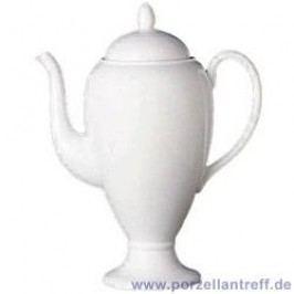 Wedgwood White China Coffee Pot 0.90 L