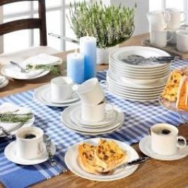 Friesland Jeverland weiß Tableware 36-piece set