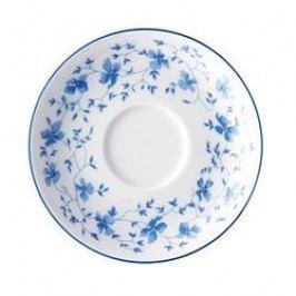 Arzberg Form 1382 Blue Blossoms (Blaublüten) Mocha / Espresso Saucer 12 cm