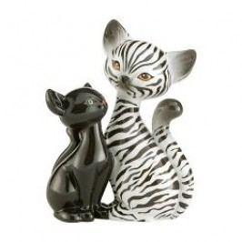 Goebel Kitty de luxe - Animal Kitties Decorative figurine 'Zebra' Kitty in Love h: 18 cm
