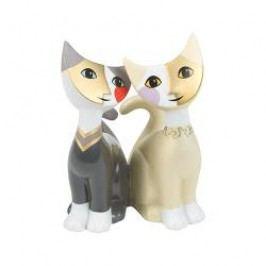Goebel Rosina Wachtmeister - Valentine´s Day Decorative figurine 'Cats - mio amore' h: 10 cm
