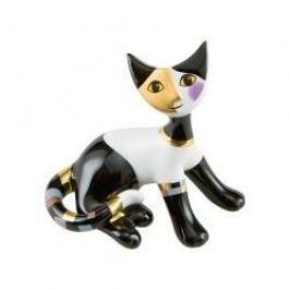 Goebel Rosina Wachtmeister - Minikatzen Decorative figurine cat 'Rosanna' h: 7 cm