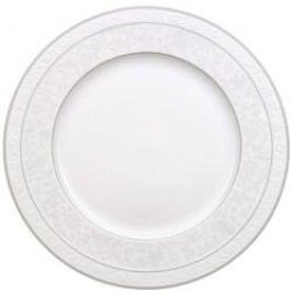 Villeroy & Boch Gray Pearl Round Flat Platter 33 cm