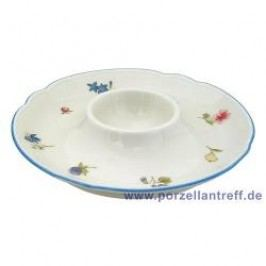Seltmann Weiden Marie-Luise Scattered Blooms Egg Cup Plate 12.5 cm, Diameter