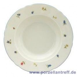 Seltmann Weiden Marie-Luise Scattered Blooms Soup Plate 23 cm