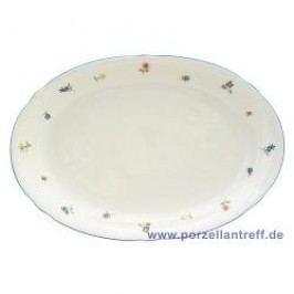 Seltmann Weiden Marie-Luise Scattered Blooms Oval Platter 31 cm