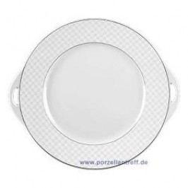 Seltmann Weiden Holiday Palm Beach Pie Platter With Handle 27 cm