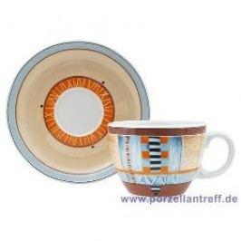 Seltmann Weiden Grado Cappuccino Cup & Saucer, 2 pcs set, 0.20 l/15 cm
