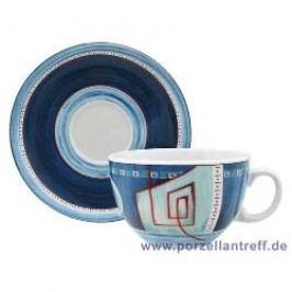 Seltmann Weiden Imperia Café Au Lait Cup & Saucer, 2 pcs set, 0.37 l/16 cm