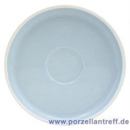 Arzberg Profi Scandinavian light sky Saucer For Café Au Lait, Mug With Handle 18 cm