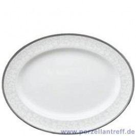 Wedgwood Celestial Platinum Oval Platter 35 cm
