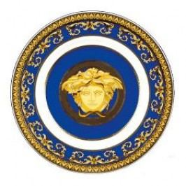 Rosenthal Versace Medusa blue Bread and Butter Plate 18 cm