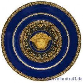 Rosenthal Versace Medusa blue Charger Plate / Underplate 30 cm