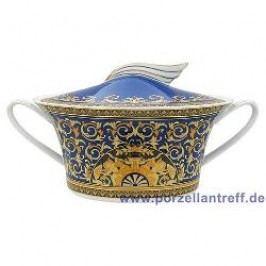 Rosenthal Versace Medusa blue Bowl with Lid 1.60 L