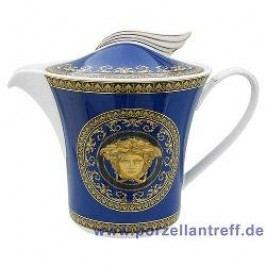 Rosenthal Versace Medusa blue Tea Pot 1.30 L
