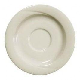 Seltmann Weiden Orlando fine cream Uni Coffee Saucer 14.5 cm