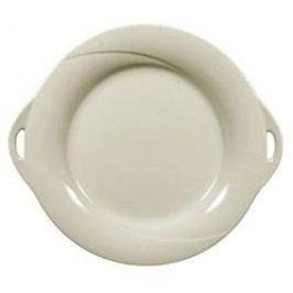 Seltmann Weiden Orlando fine cream Uni Pie Platter with Handle 30 cm