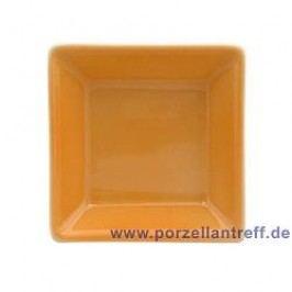 Arzberg Tric orange Platter Quadratic 7 x 7 cm