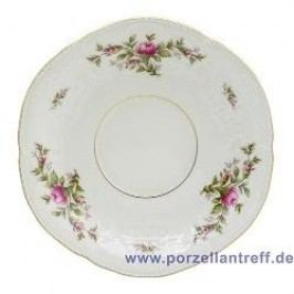 Rosenthal Classic Sanssouci Ivory Moosrose new Soup Cup Saucer 17.5 cm