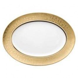 Rosenthal Versace Medusa Gala Gold Dish 40 cm