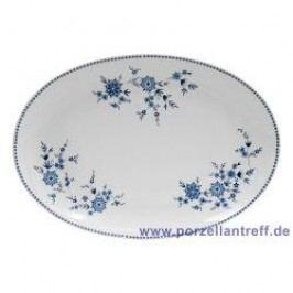 Seltmann Weiden Doris Bavarian Blue Oval Platter 35 cm