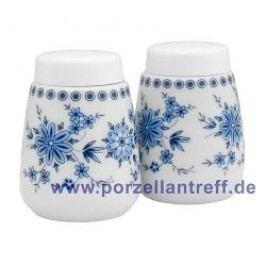 Seltmann Weiden Doris Bavarian Blue Set Salt / Pepper