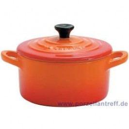 Le Creuset Poterie Mini s Mini Cocotte 9 x 5 cm, oven red