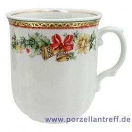 Seltmann Weiden Marie-Luise Christmas Dream Mug with Handle 0.25 L