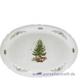 Seltmann Weiden Marie-Luise Christmas Platter oval, 31 cm