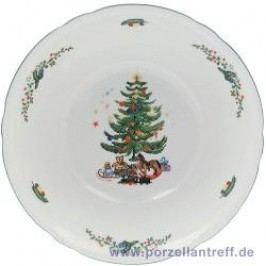 Seltmann Weiden Marie-Luise Christmas Bowl round, 23 cm