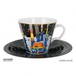 Königlich Tettau Hundertwasser The universal Six Cappuccino Cup