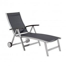 Sieger Montesa Klapp-Rollliege Aluminium/Textilene Graphit/Grau