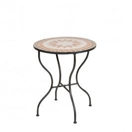 Siena Garden Finca Mosaik-Tisch Ř60 cm Eisen Schwarz