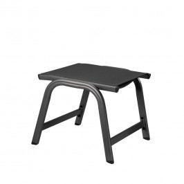 Kettler Basic Plus Gartenhocker Aluminium/Textilene Anthrazit