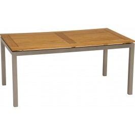 Stern Tischplatte 130x80 cm Teak FSC Teak Natur