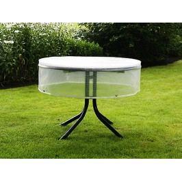 Heinemeyer Schutzhülle 120cm für runde Tische, Poly-Gitter-Folie transparent