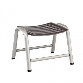 Kettler Wave Hocker/Fußauflage Aluminium/Textilene Silber/Anthrazit