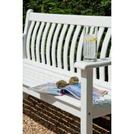 Alexander Rose New England Karri 2-Sitzerbank 127cm Akazie Weiß