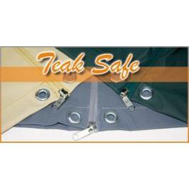 Heinemeyer Schutzhülle 165x95cm für Tische, Teak-Safe grau