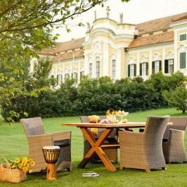 Diamond Garden Boulogne Gartentisch 180x100 cm Teak Old Teak Natur