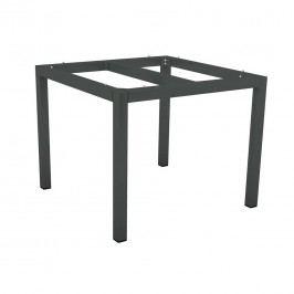 Stern Tischgestell 80x80 cm Aluminium Anthrazit