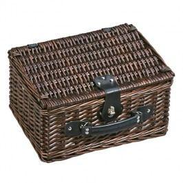 cilio Picknickkorb Bellagio für 2 Personen Halbweide  Dunkelbraun