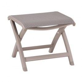 Best Larino Hocker Aluminium/Textilene Taupe