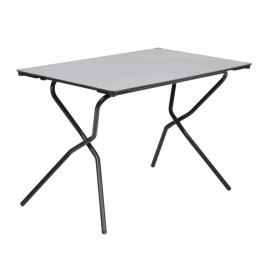 Lafuma Anytime Tisch 110x68 cm Stahl/HPL  Schwarz/Stone