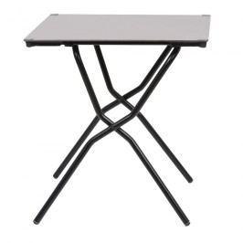 Lafuma Anytime Tisch 68x64 cm Stahl/HPL Schwarz/Stone
