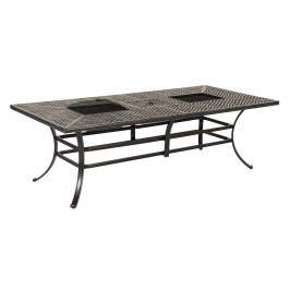 Hartman Jamie Oliver Grill-Tisch 228x106 cm Aluminium-Guss Grau
