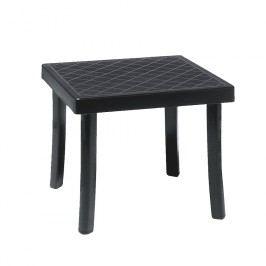 Nardi Rodi Beistelltisch 46x46 cm Kunststoff Anthrazit