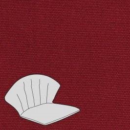 Melegant Auflage Stapelsessel Elegance, Dourdan, Romaneo, Toledo dunkelrot -Granat