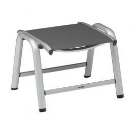 Kettler Vista Hocker Aluminium/Textilene Silber/Anthrazit