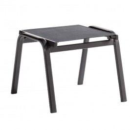 Sieger Cadiz Hocker Aluminium/Textilene Eisengrau/Grau